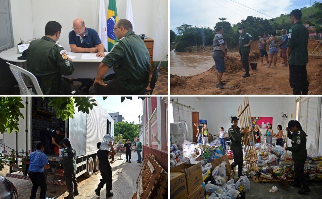 PADRÃO ÁGUIAS PRESTA AJUDA HUMANITÁRIA NO MUNICÍPIO DE RAUL SOARES, NO ESTADO DE MINAS GERAIS
